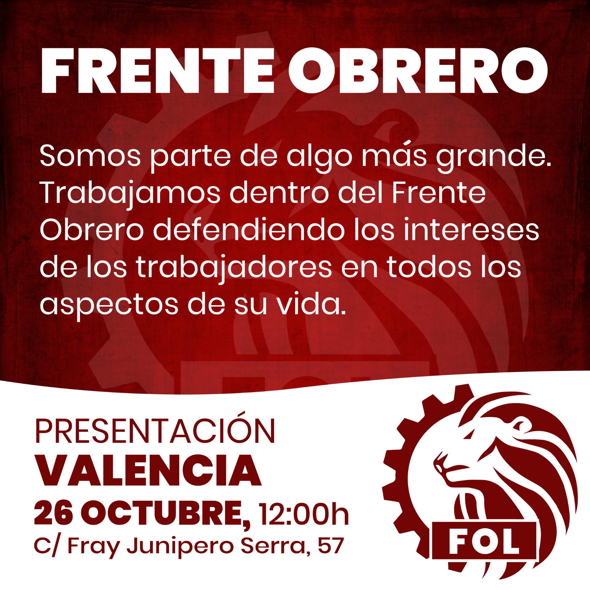 FRENTE OBRERO