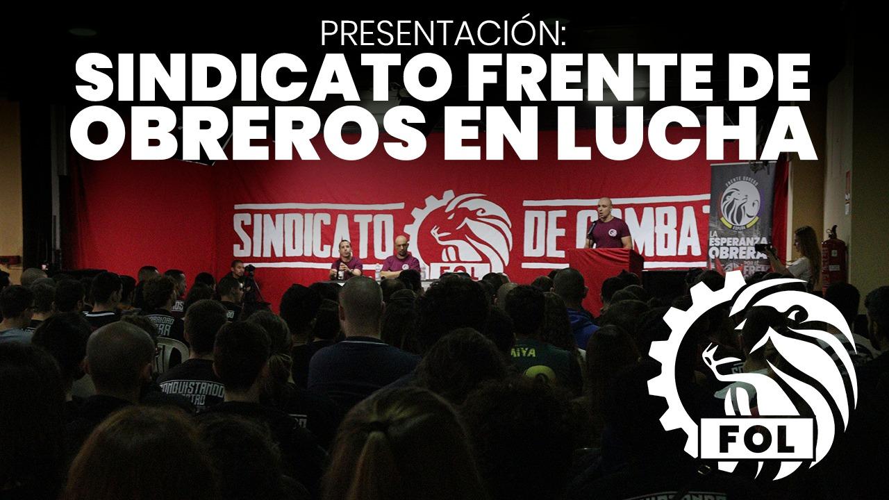 Presentación Sindicato Frente De Obreros En Lucha