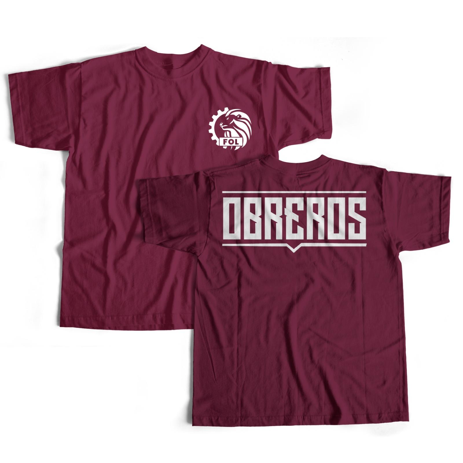 "Camiseta ""Obreros"""