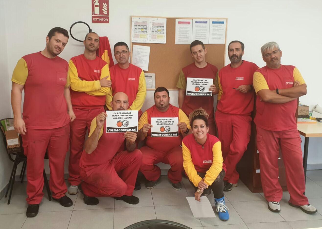 Desguaces La Torre En Apoyo A Las Trabajadoras De Joaquin Llusar