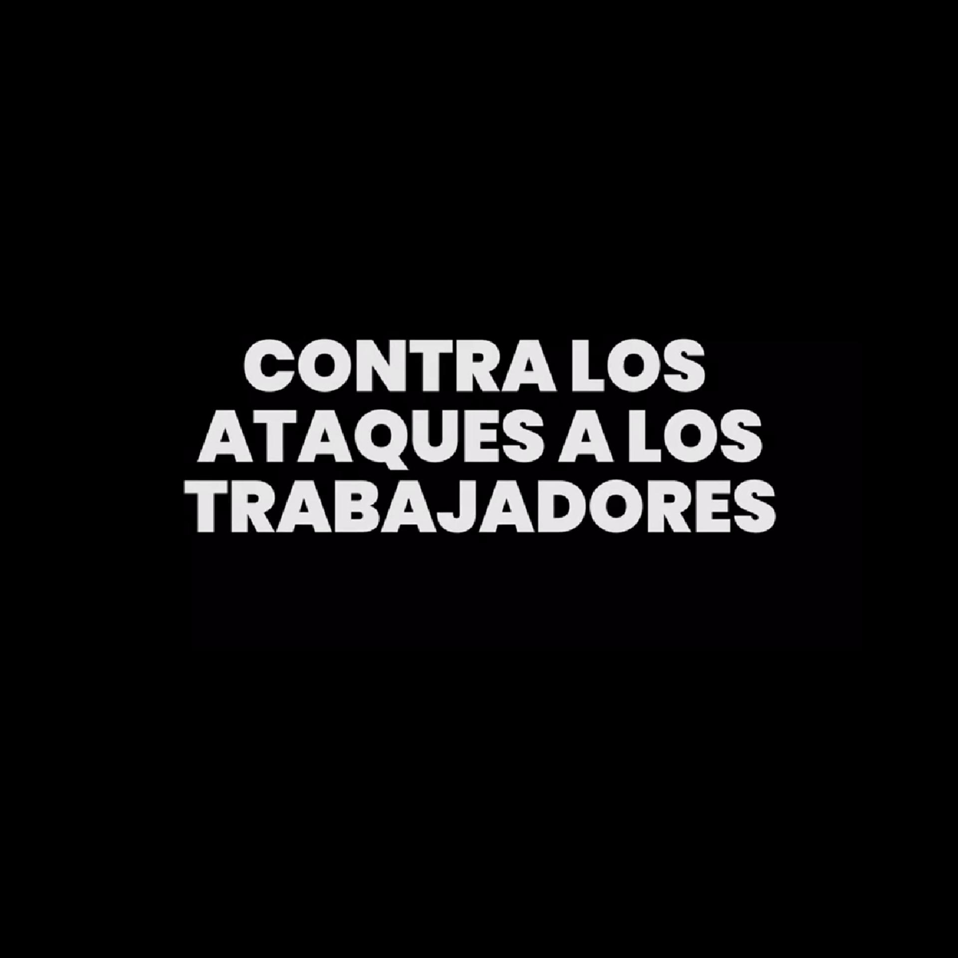 SOLIDARIDAD Y LUCHA CON LOS TRABAJADORES DE LA EMT