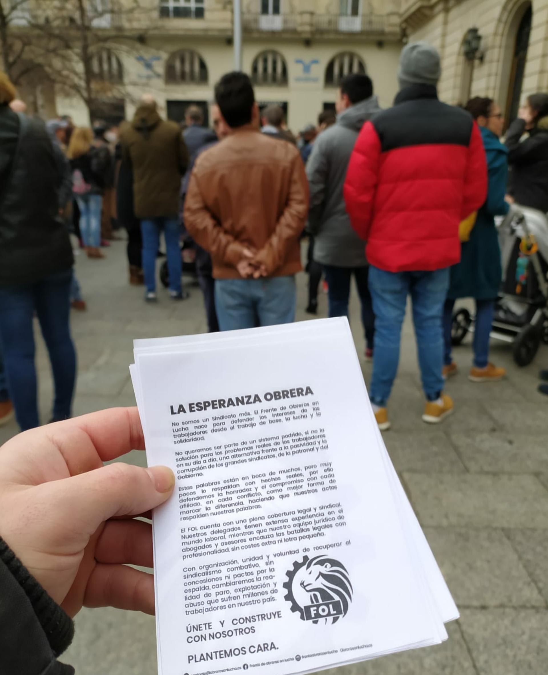 En Apoyo A Los Trabajadores De PSA/OPEL España