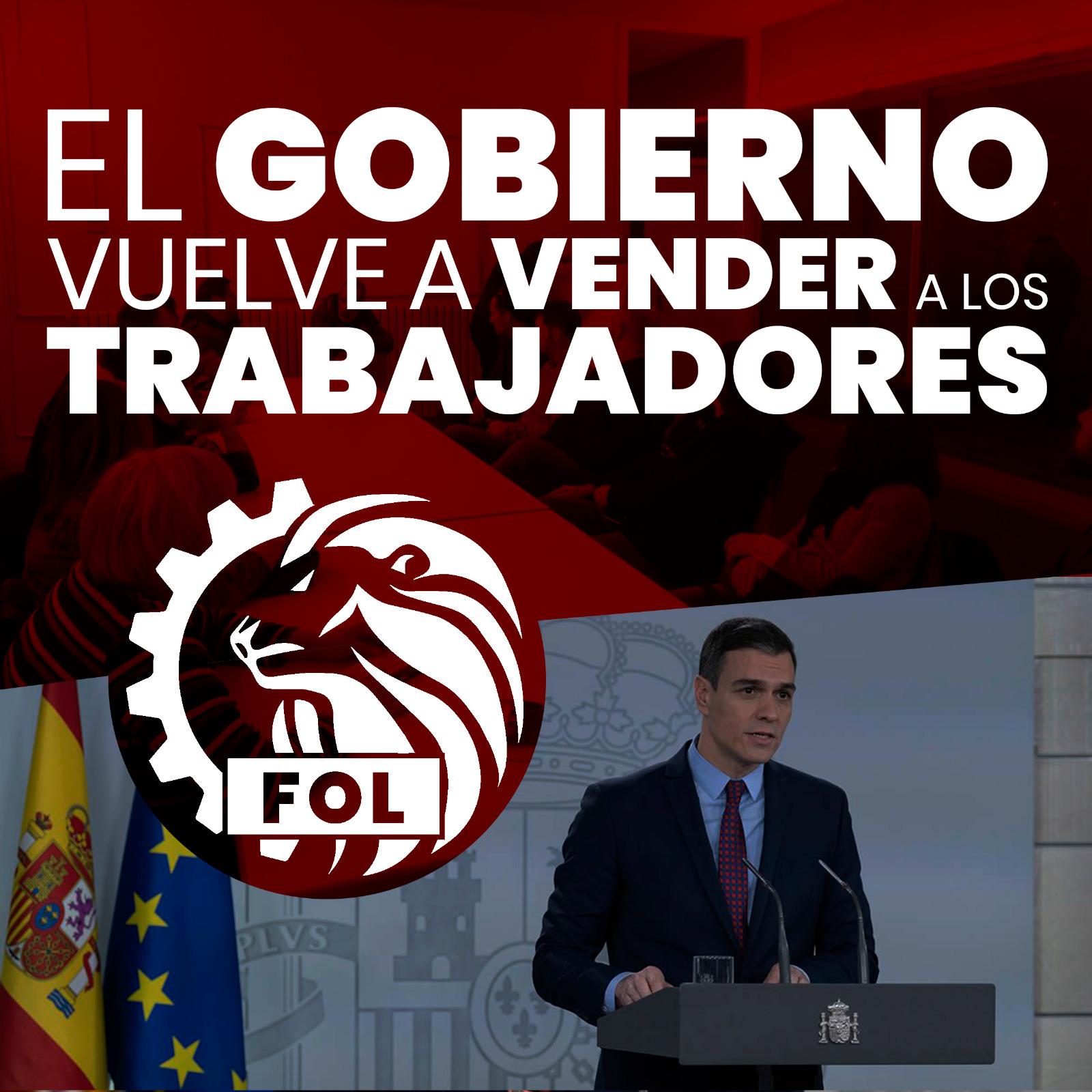 EL GOBIERNO VUELVE A VENDER A SUS TRABAJADORES