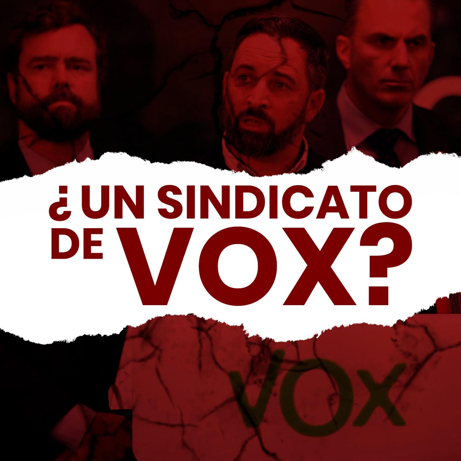 ¿Un Sindicato De VOX?