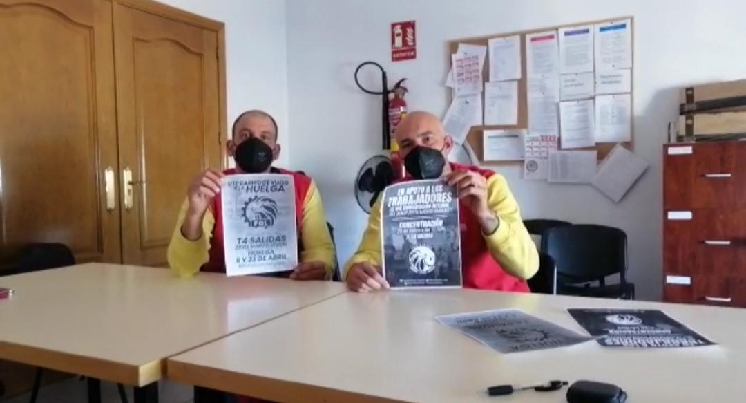 Desguaces La Torre En Apoyo A La Huelga De UTE Campo De Vuelo