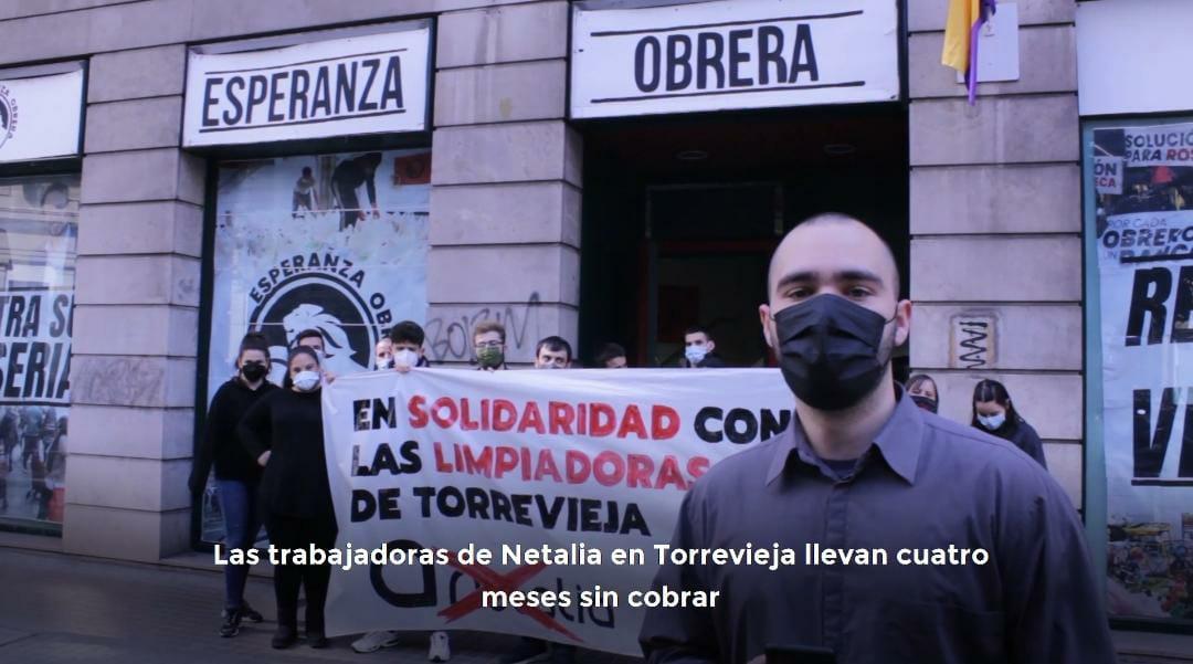 Solidaridad Con Las Trabajadoras De Netalia