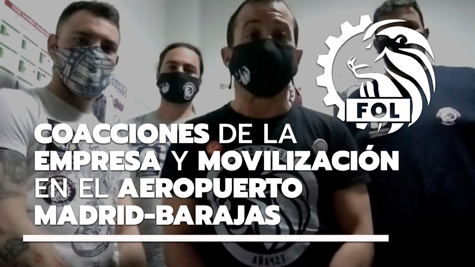 Coacciones De La Empresa Y Movilización Del Aeropuerto Madrid-Barajas